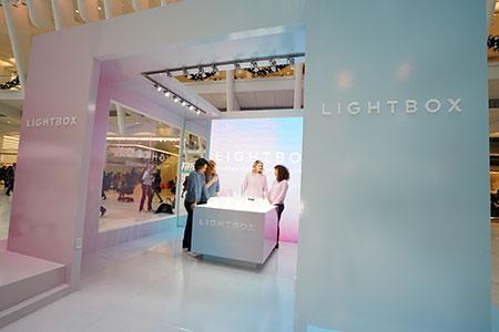 Lightbox pop-up customers