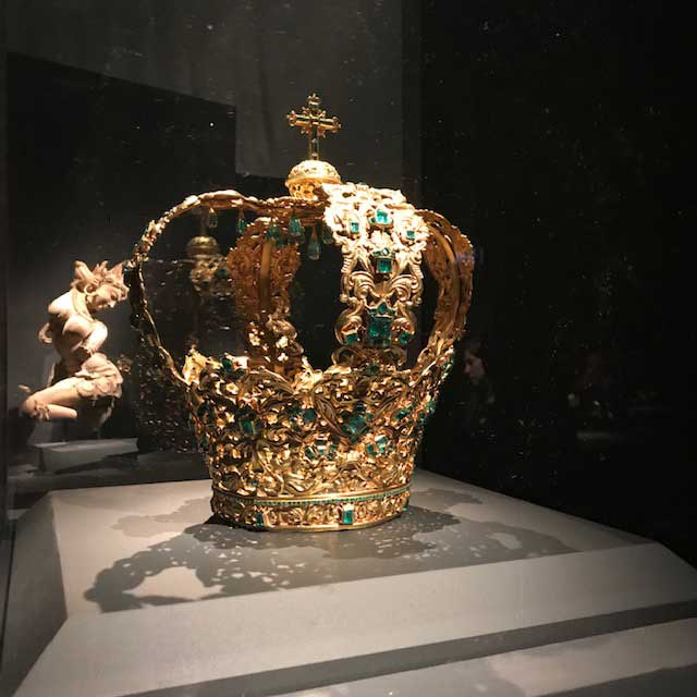 Met Jewelry Exhibit Crown of the Andes
