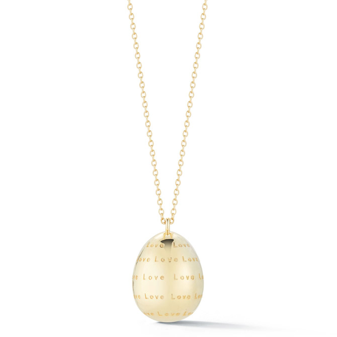 Tali Gillette Good Egg Love necklace
