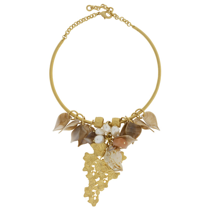 Ancarso leaves necklace