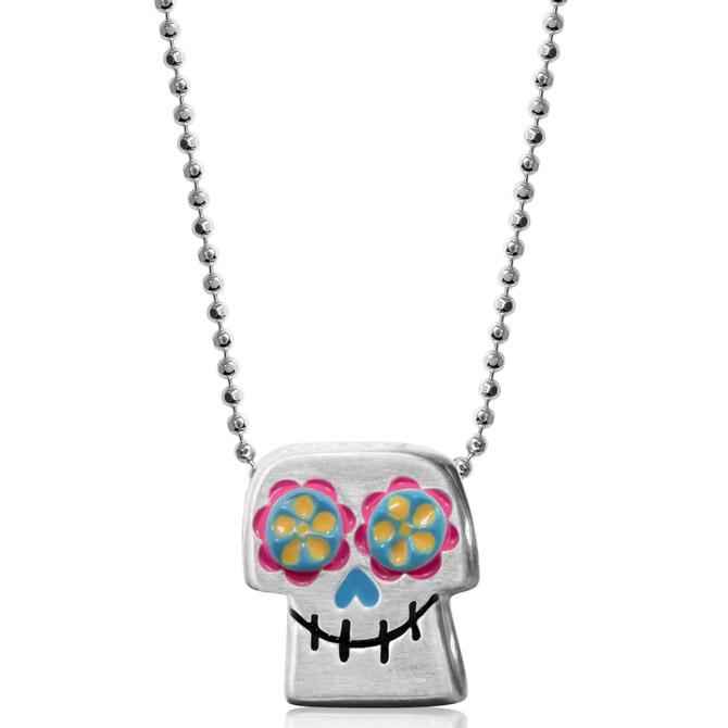 Alex Woo Coco enamel pendant