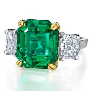 Oscar Heyman emerald ring