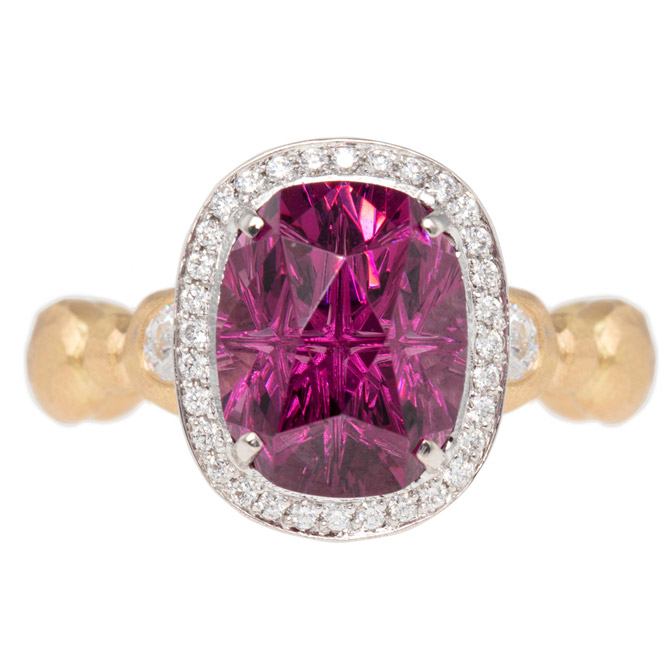 Pamela Froman New York Crush garnet ring