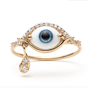 Sofia Zakia Suspiria eye ring