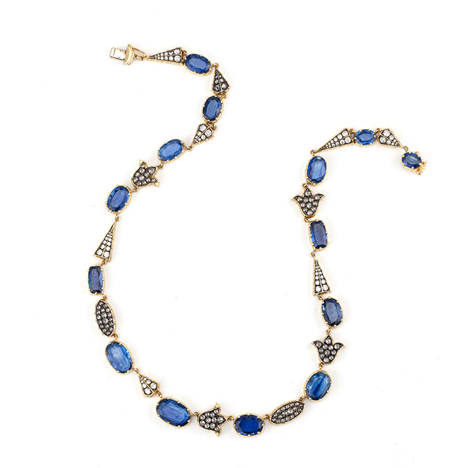 Sylva and Cie kyanite necklace