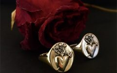 Talon Sacred Heart ring