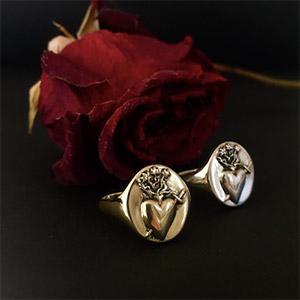 Talon Sacred Heart ring