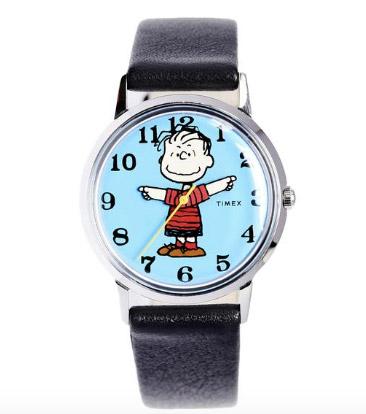 Timex x Peanuts watch Linus