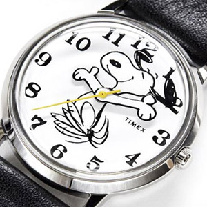 Timex x Peanuts watch Snoopy
