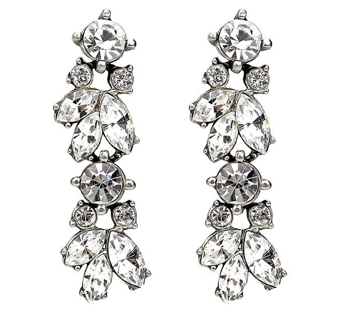 ben amun vivian crystal earrings