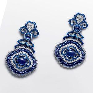 chopard tanzanite earrings