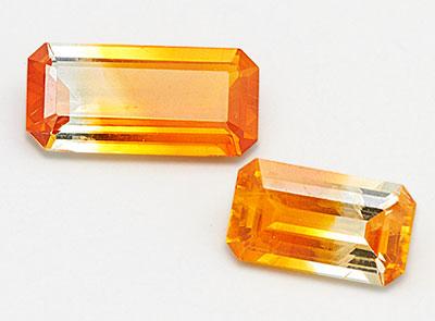 columbia gem malawi bicolor sapphires
