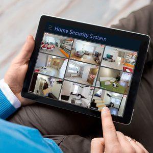 home security ipad