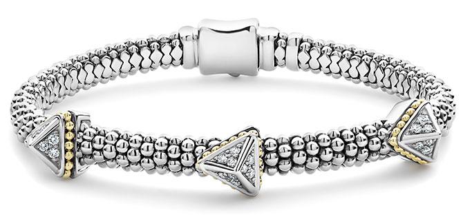 lagos KSL caviar bracelet