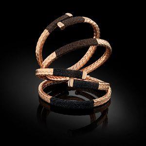 pesavento rose gold cuffs