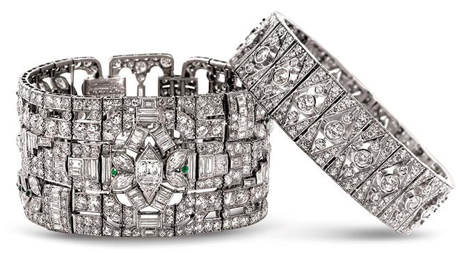 provident jewelry art deco bracelets