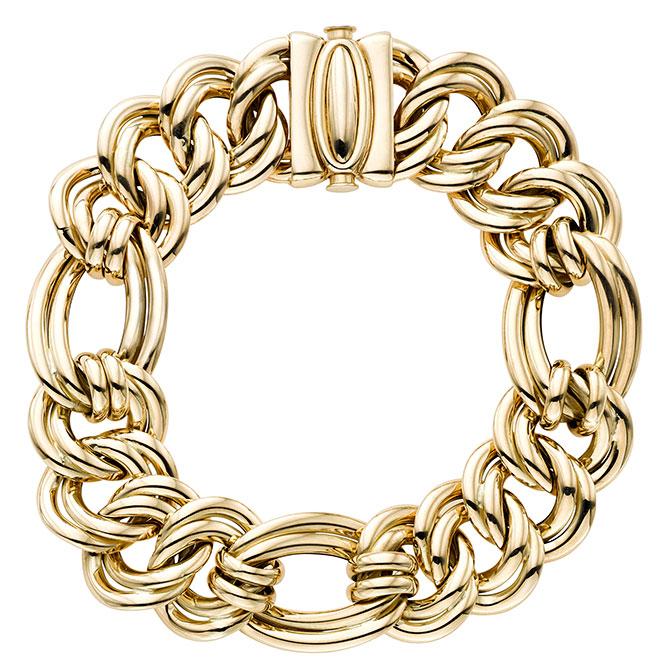 royal chain first lady link bracelet