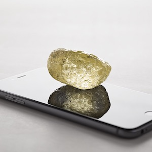552 ct. yellow diamond Diavik