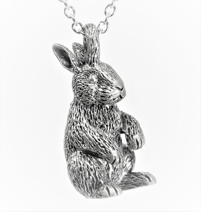 Alison Nagasue bunny pendant