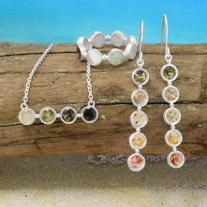 Dune Jewelry styled beach shot