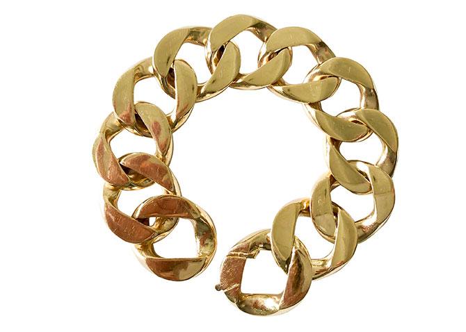 Cartier curb link bracelet