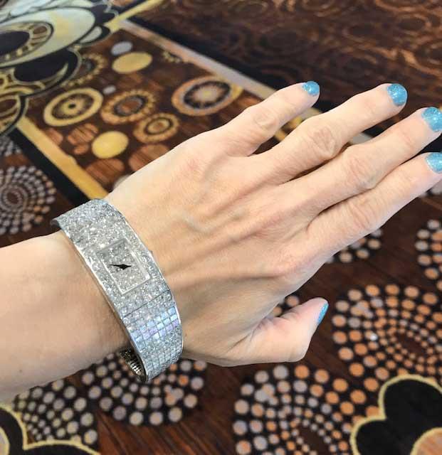 Christopher Designs diamond watch
