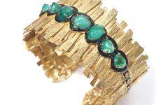 Coomi Muzo emerald cuff