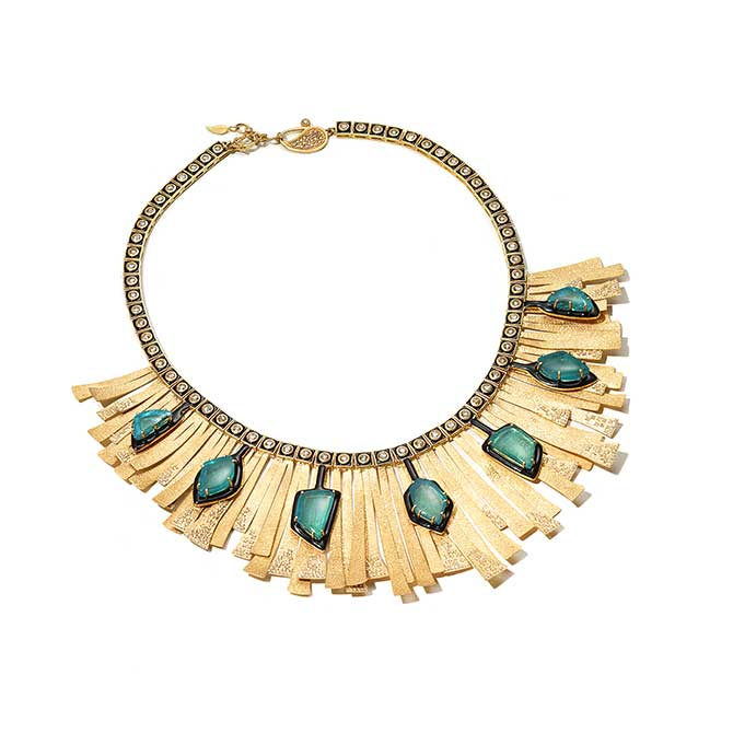 Coomi Sunbeam Muzo emerald necklace