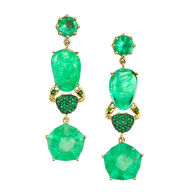Daniela Villegas Galatea earrings