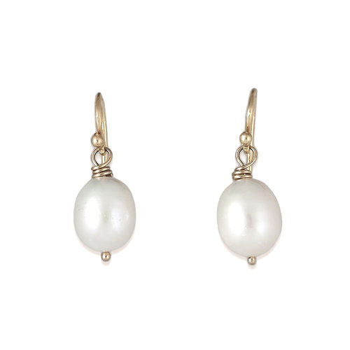 Donna DiStefano pearl earrings