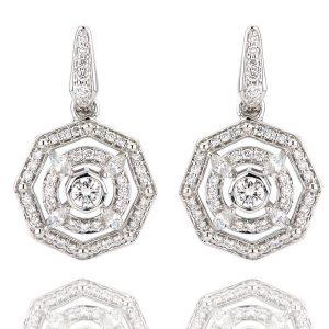 Lark & Berry Aerides earrings