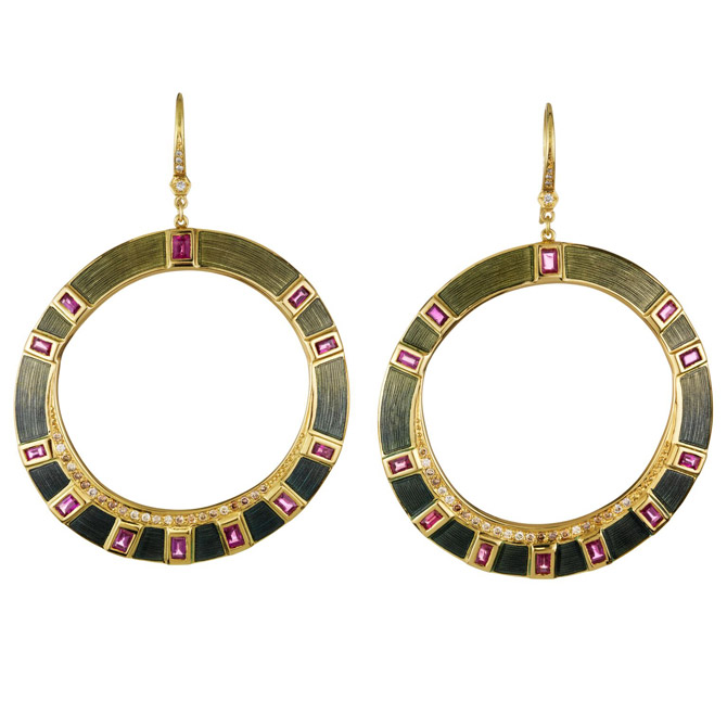 Brooke Gregson Talisman earrings