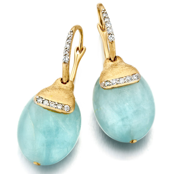 Nanis aquamarine earrings