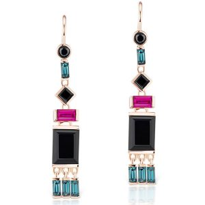 Jane Taylor Cirque tassel earrings