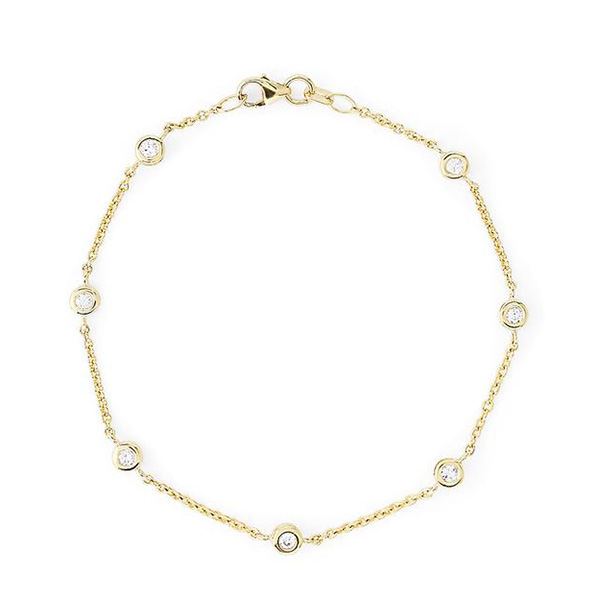 Effy diamond station bracelet