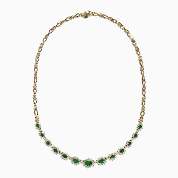 Effy jewelry emerald necklace