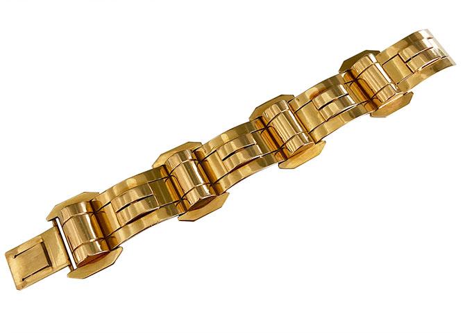 French retro 18k bracelet