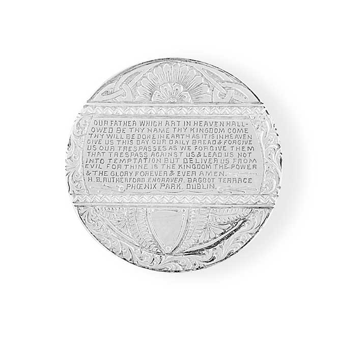 Heavenly VIces Lords Prayer love token