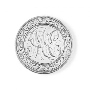 Heavenly Vices Indian rupee love token