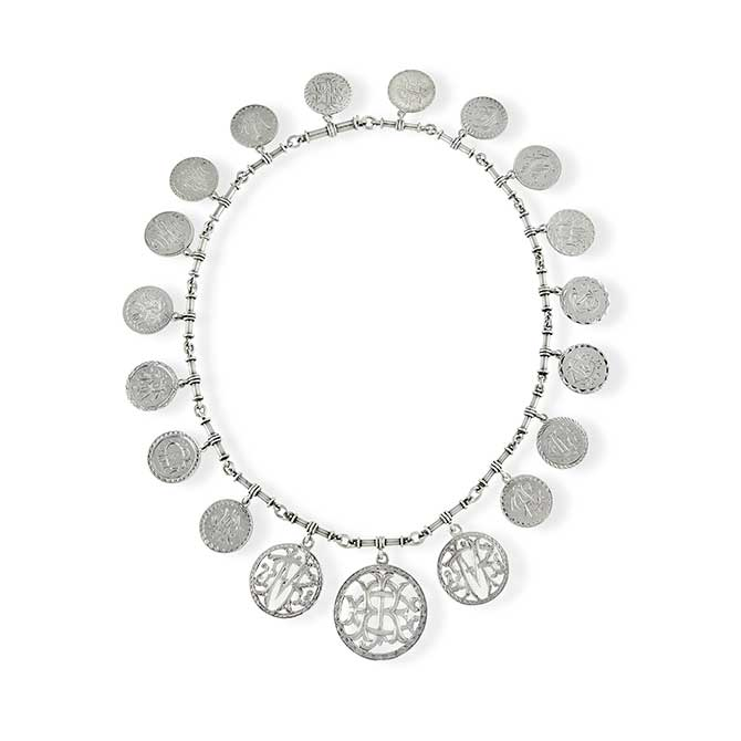 Heavenly Vices love token necklace