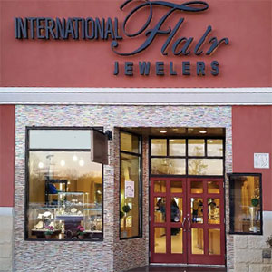 International Flair Jewelers front