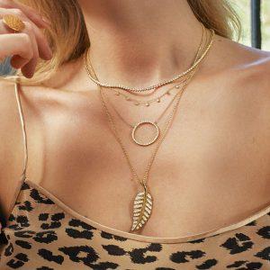 Jen Meyer Jewelry leopard Instagram