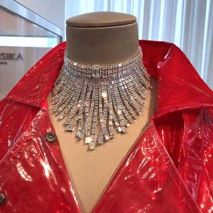 Messika Paris diamond necklace