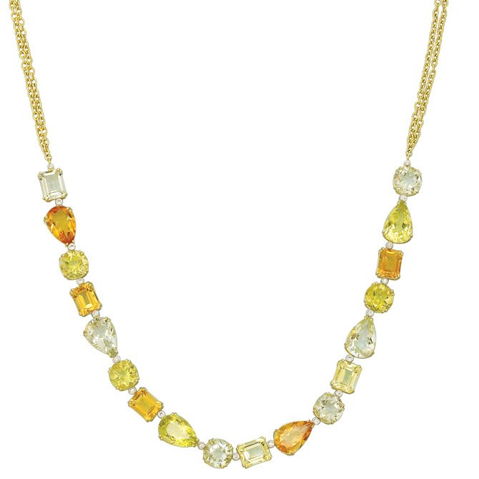Herco gemstone necklace