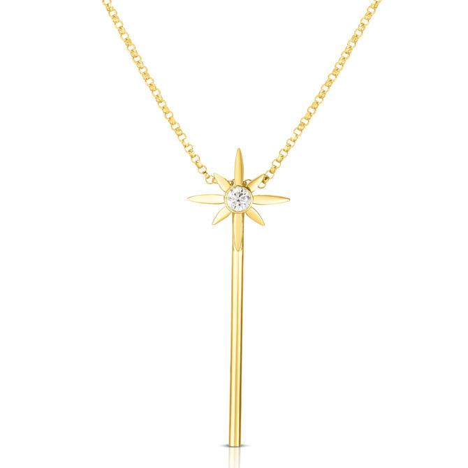 Disney x Roberto Coin wand necklace