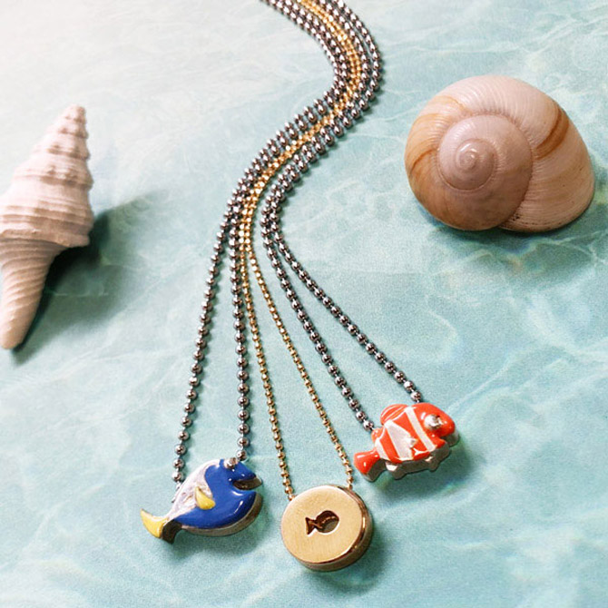 Alex Woo Finding Nemo pendants