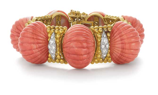 Phillips auction David Webb bracelet
