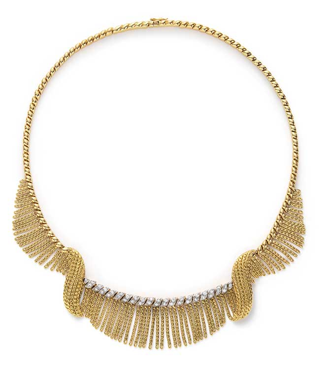 Phillips auction Sterle Paris necklace