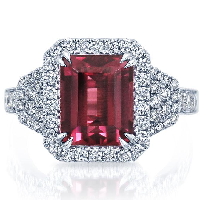 Frederic Sage rhodolite ring