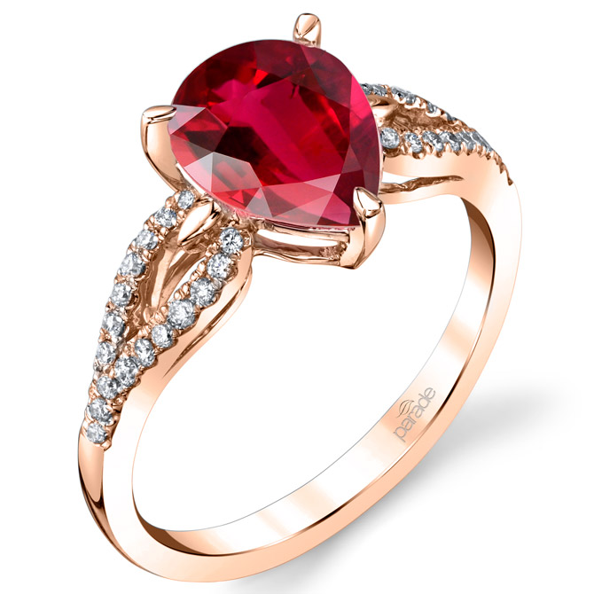 Parade Design rubellite ring